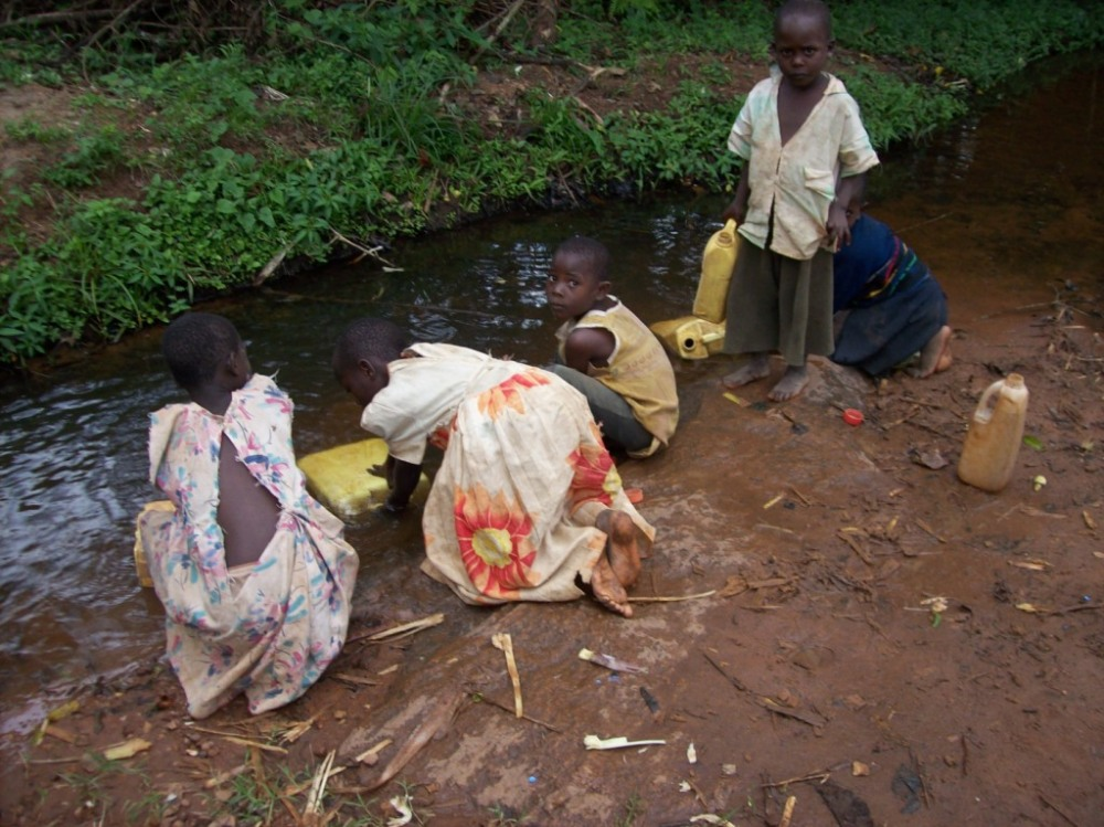 WATER TANKS FOR HARVESTING RAIN WATER FOR HOME USE IN RURAL COMMUNITIES