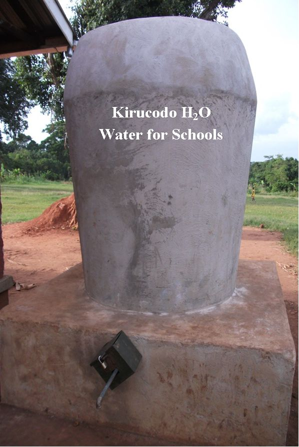 KIRUCODO RAIN WATER HARVESTING TANKS FOR RURAL PRIMARY SCHOOLS PROJECT IN NEED OF YOUR SUPPORT (1/6)