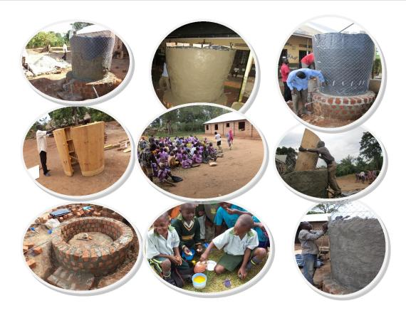Highlights on current tank installations at the three rural community schools.