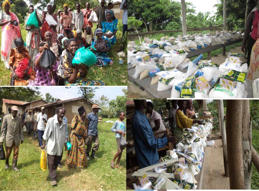 Bluebonnet Sponsored Humanitarian Assistance to the Elderly and Widows of Kikandwa Villages
